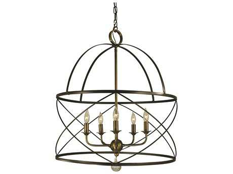 Framburg Nantucket Five-Lights 22'' Wide Chandelier