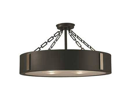 Framburg Oracle Four-Light Semi-Flush Mount RM2412