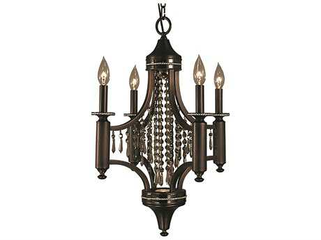 Framburg Princessa Four-Light 18'' Wide Mini Chandelier RM5074