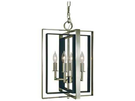Framburg Symmetry Four-Light 12'' Wide Mini Chandelier RM4860