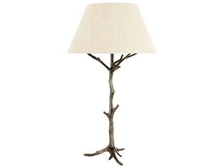 Frederick Cooper Dark Bronze Two-Light Buffet Lamp FDC65121