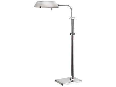 Frederick Cooper Satin Nickel Floor Lamp
