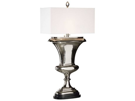 Frederick Cooper Polished Nickel Two-Light Floor Lamp
