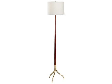 Frederick Cooper Dark Cherry Floor Lamp