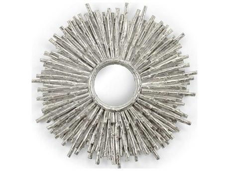 Frederick Cooper Silver Leaf / Plain Clear Wall Mirror