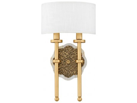 Fredrick Ramond Alba Cleopatra Gold Two-Light 9'' Wide Wall Sconce FDFR41102CLG
