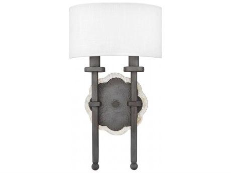 Fredrick Ramond Alba Metallic Matte Bronze Two-Light 9'' Wide Wall Sconce FDFR41102MMB