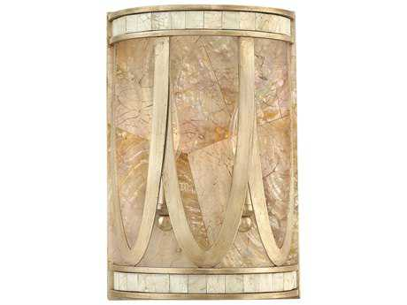 Fredrick Ramond Sirena Champagne Gold Two-Light Wall Sconce FDFR48052CPG
