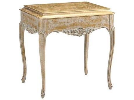 French Heritage Avenue Aged Oak God Dust & Grey 25''L x 20''W Rectangular Emilie End Table FREA23411002OGGD