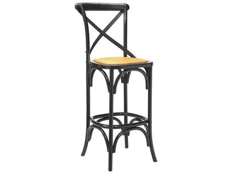 French Heritage Bosquet Black Bosquet Bar Stool FREM24361001BLK