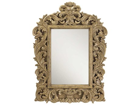 French Heritage Decorative 48''W x 59''H Gervais Wall Mirror FREM87041204