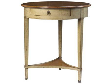 French Heritage French Accent 28'' Wide Round Foyer Table FREM1342403