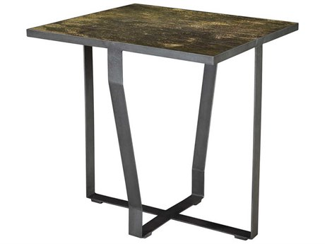 French Heritage Henry Frequency Mosaic 25'' Wide Square Swerve End Table FREM1241102FRE