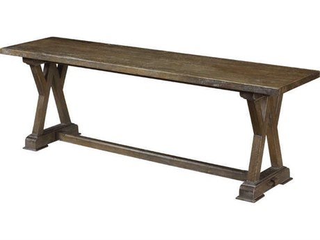 French Heritage Pyrenees Carcassone Dining Bench