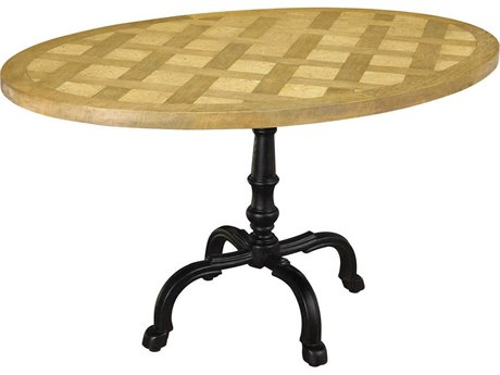 French Heritage Pyrenees 54''L x 36''W Oval Pyrenees Oval Dining Table FREM25201108
