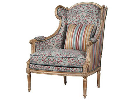 French Heritage Rive Gauche Dark Gold Babette Accent Chair FREURG40761834