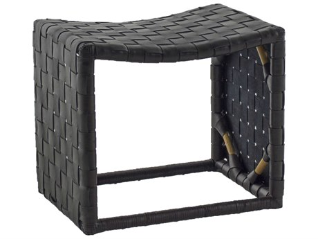 Gabby Home Black Dover Accent Stool