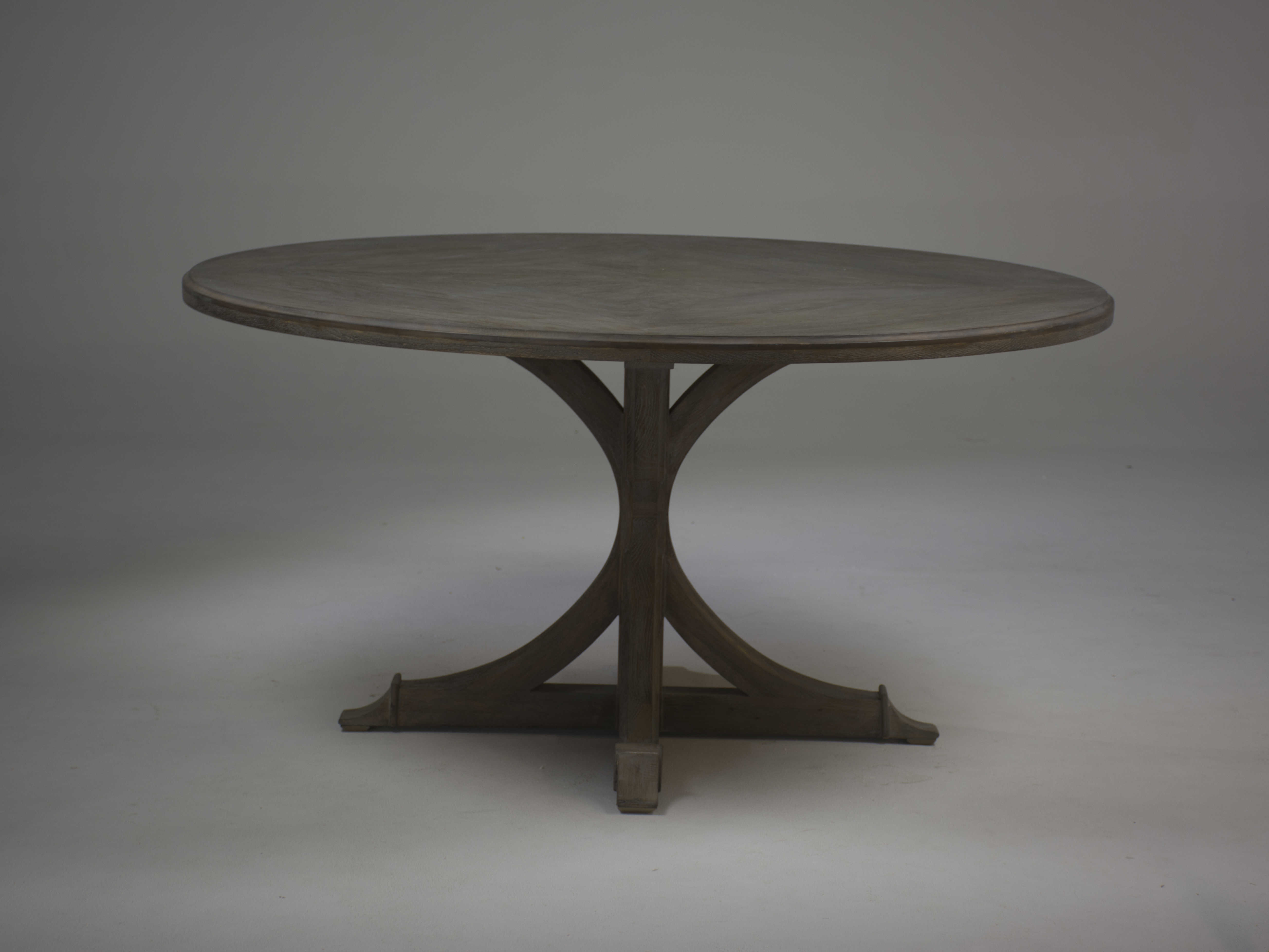 Gabby Adams Vintage Oak 60 Wide Round Dining Table