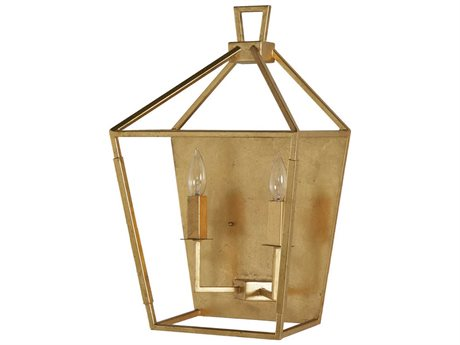 Gabby Home Alder Antique Gold Wall Sconce GASCH159055