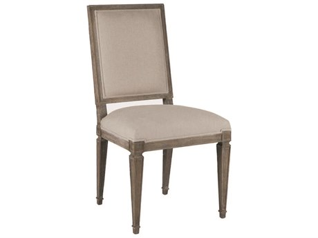 Gabby Danielle Burnished Oak and Sunbrella Linen Dove Dining Side Chair (Set of 2) GASCH560S300F03