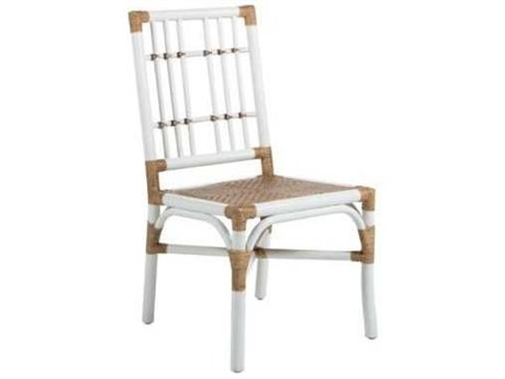 Gabby Home Natural / White Rattan Bentley Side Dining Chair (Sold in 2)