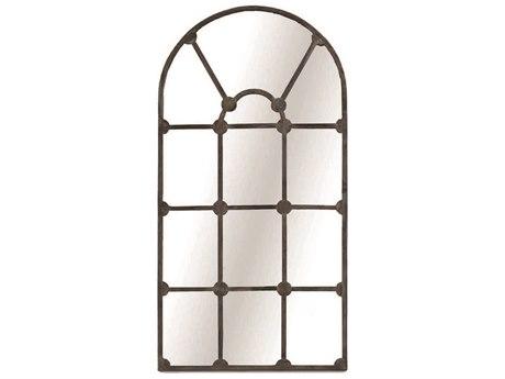 Gabby Drake Aged Iron 35''W x 71''H Floor Mirror