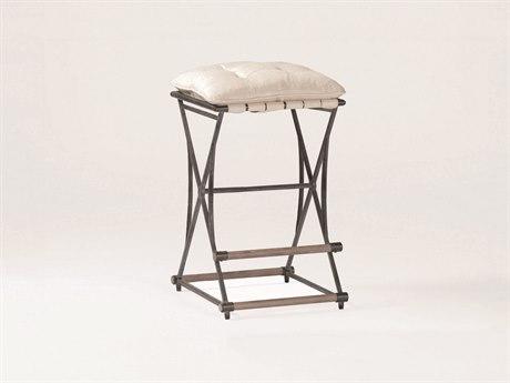 Gabby Frederick Soft Chamois & Aged Black Counter Stool GASCH220185