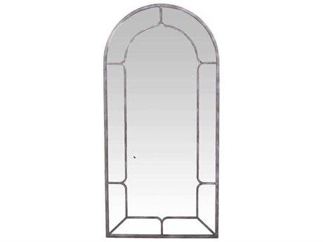Gabby Hanover Aged Iron 34''W x 70''H 34''W x 70''H x 1''E Floor Mirror GASCH158035