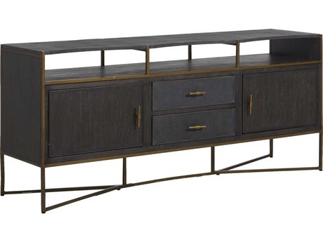 Gabby Home Jameson Natural Black TV Stand GASCH160415
