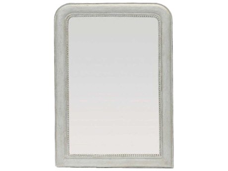 Gabby Kathleen French Canvas 36''W x 49''H Rectangular Wall Mirror GASCH401115