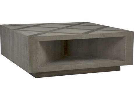 Gabby Larson Charcoal Oak & Recycled Elm 48'' Wide Square Coffee Table GASCH155220