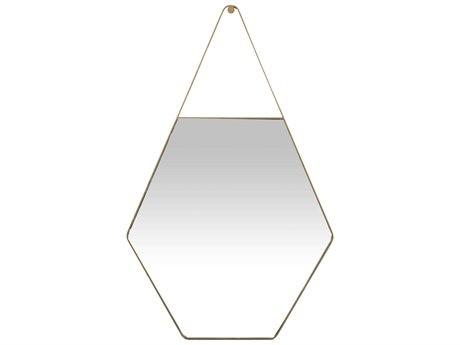 Gabby Lovell Brushed Gold 27''W x 44''H Wall Mirror GASCH155720