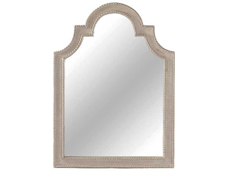 Gabby Phillip Antique White 31''W x 42''H Wall Mirror GASCH220250