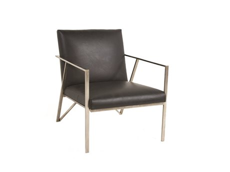 Gabby Ray Black & Silver Accent Chair GASCH595S300