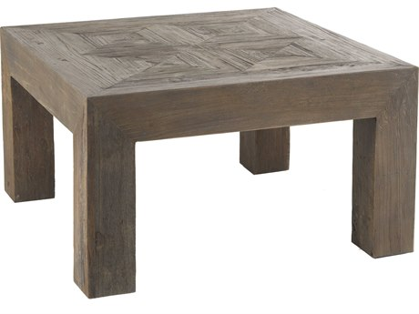 Gabby Reuben Recycled Dark Elm 31'' Wide Square Coffee Table GASCH155835