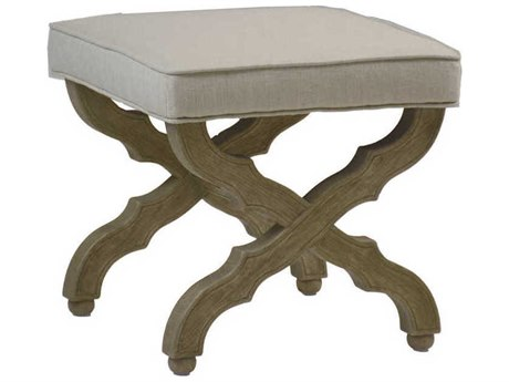 Gabby Serena Burnished Oak Accent Stool GASCH512S300F03