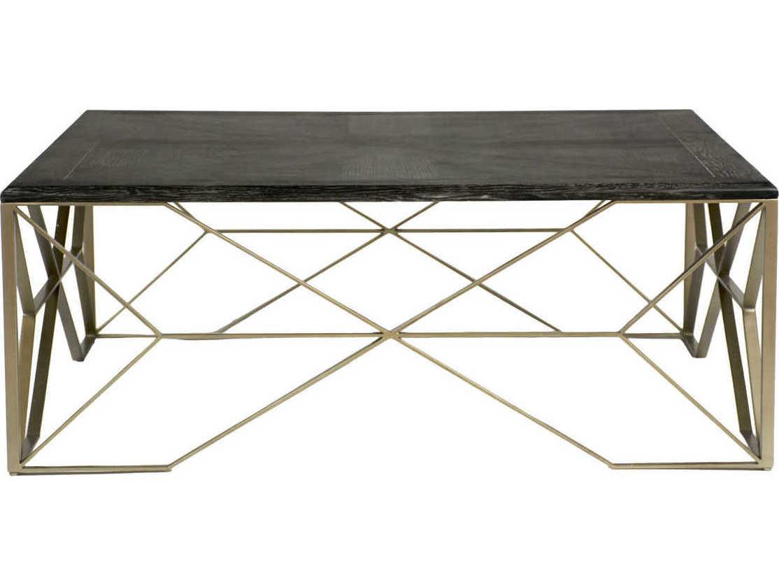 Fantastic Gabby Theodore Dark Gray Cerused Oak Light Bronze 48 Wide Square Coffee Table Lamtechconsult Wood Chair Design Ideas Lamtechconsultcom