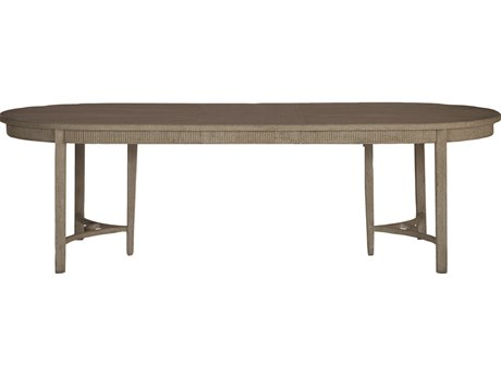 Gabby Whitlock Natural Cerused Oak & Distressed Cream 106''W x 44'D Oval Dining Table GASCH270110