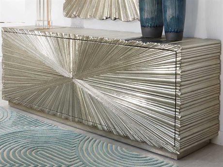 Global Views Grey Deco / White Alloy Metal Buffet