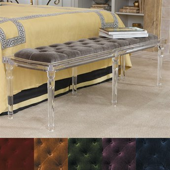 Global Views Accent Bench GV331240