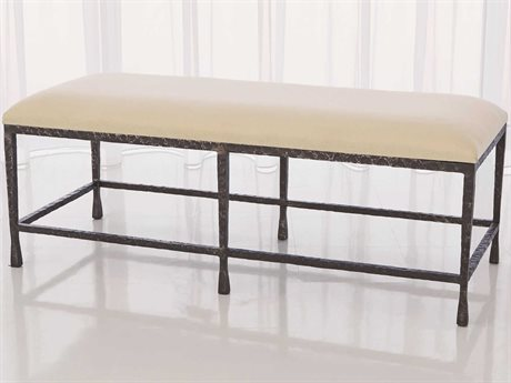 Global Views Natural Iron Accent Bench GV780439