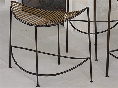 Global Views Bronze / Antique Gold Accent Bench
