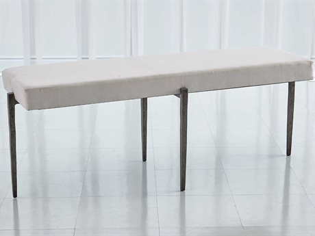 Global Views Natural Iron Accent Bench GV790861