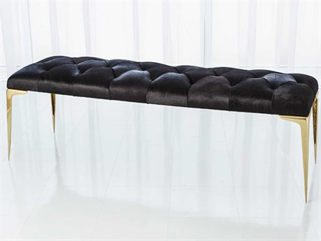 Global Views Gold Accent Bench GV992720