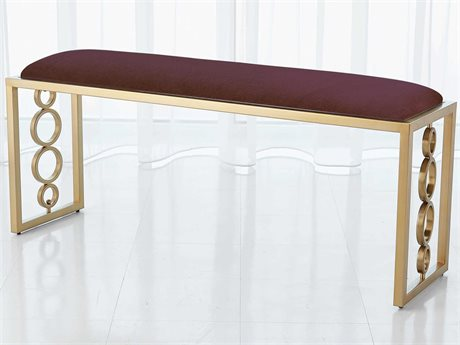 Global Views Brass Accent Bench GV992940