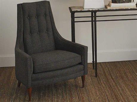 Global Views Walnut Accent Chair