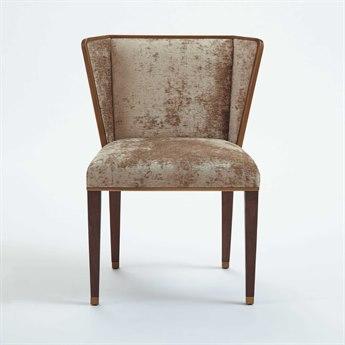Global Views Dark Walnut / Bronze Accent Chair GVAG220002