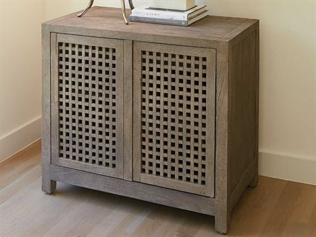 Global Views Grey Sandblasted Accent Chest