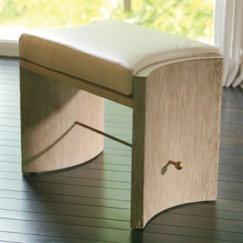 Global Views Sandblasted / Brass Accent Stool GV2469