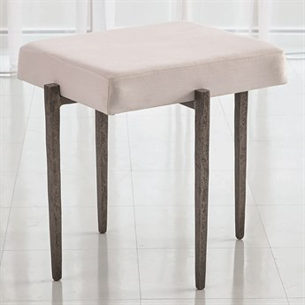 Global Views Natural Iron Accent Stool GV790862